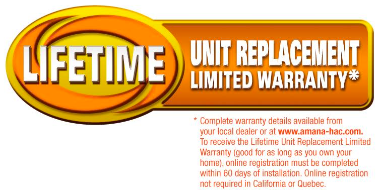 lifetime unit limited warranty replacement